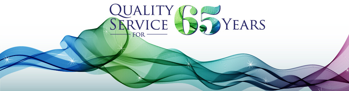 Clacher & Hook  65 Year Anniversary Banner